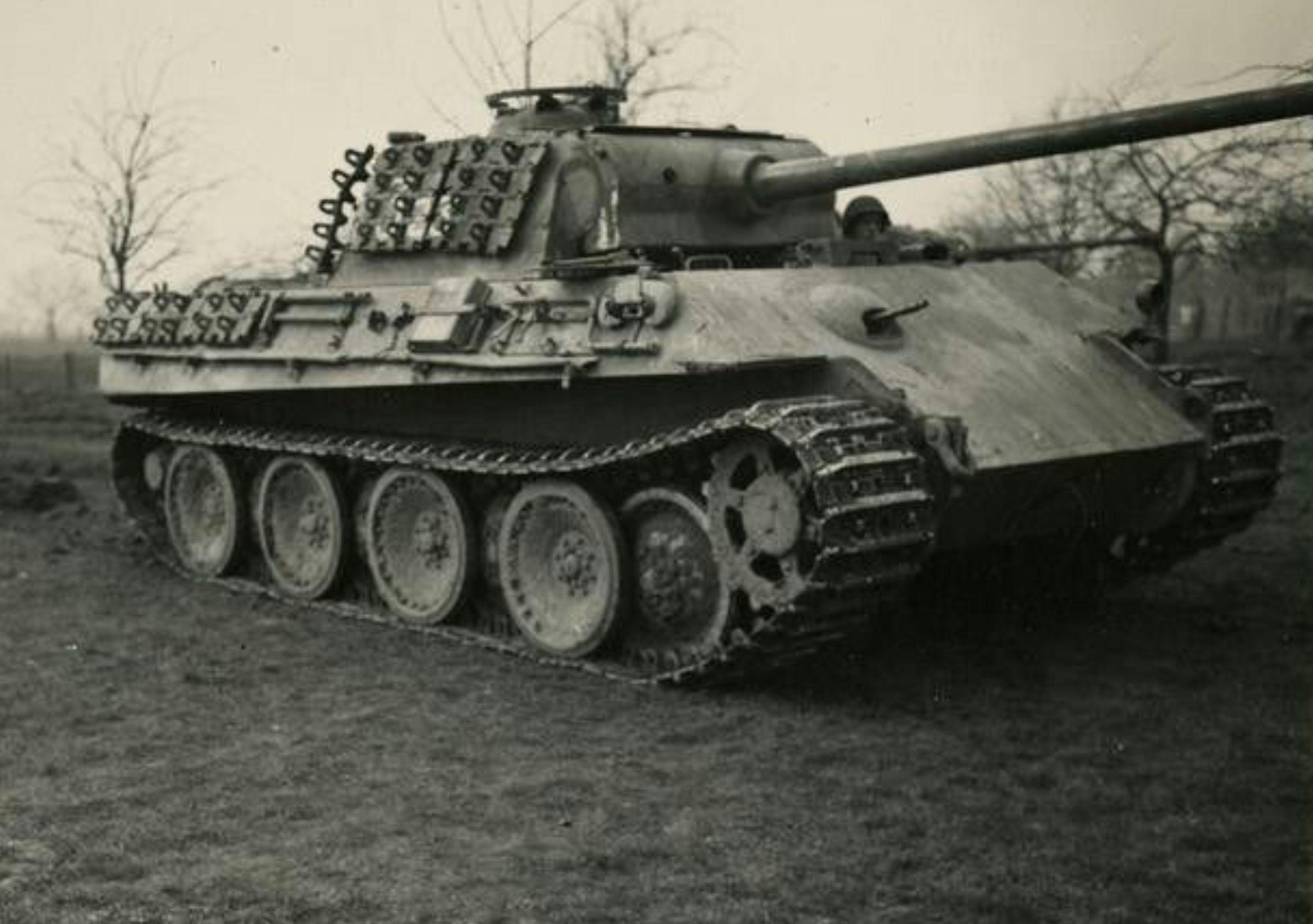 German PzKpfw Panther V Tank | Tank