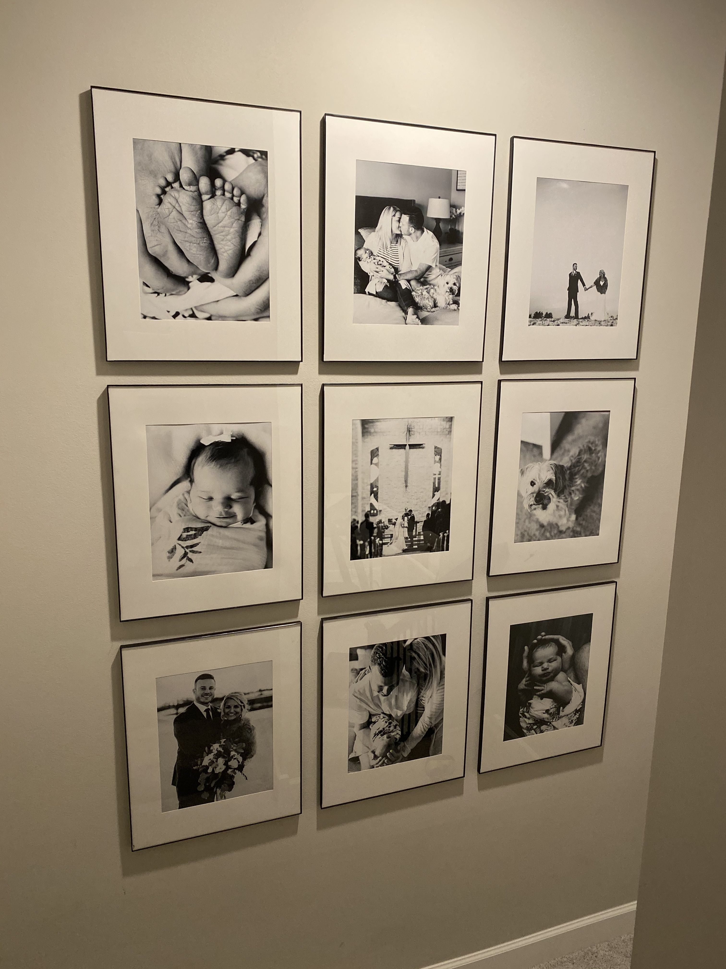 Black And White Gallery Wall Gallery Wall Wall 16x20 Frame