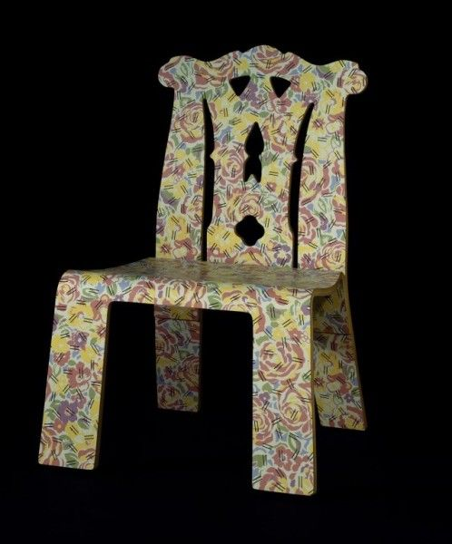 Venturi Chippendale Chair With Grandmother Pattern.