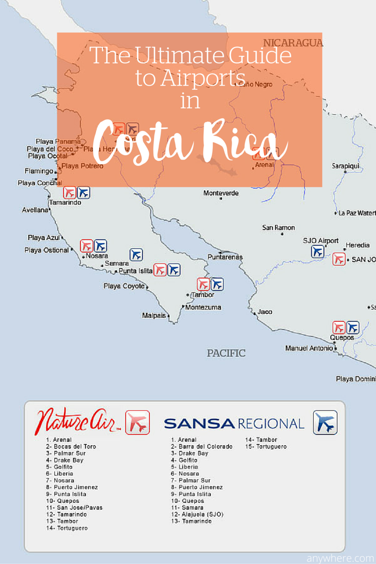 Need an airport in Costa Rica? Here's the one map you need ... Map Costa Rica Airports on dubai airports map, cape verde airports map, belarus airports map, rwanda airports map, libya airports map, trinidad airports map, us international airports map, dominican republic airports map, uae airports map, honduras airports map, puerto rico airports map, greenland location in world map, south africa airports map, malawi airports map, armenia airports map, iraq airports map, nepal airports map, sri lanka airports map, french polynesia airports map, vanuatu airports map,