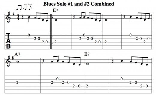 blues guitar lessons pentatonic soloing part 1 chords tab video lessons guitars. Black Bedroom Furniture Sets. Home Design Ideas
