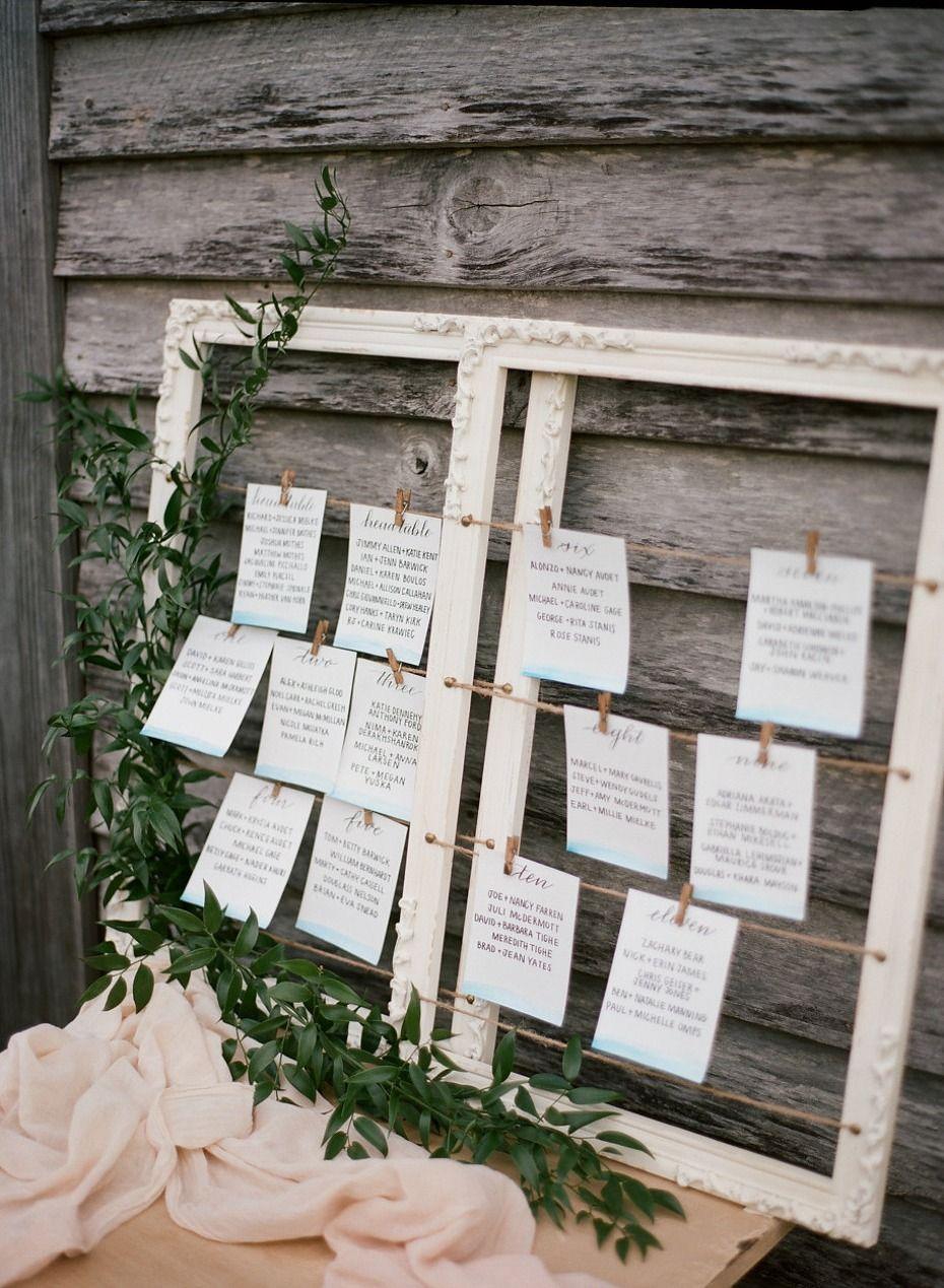 When A Southern Comfort Wedding Meets East Coast Chic | Wedding table  seating plan, Rustic wedding seating, Wedding floor plan