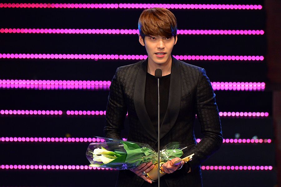 2014 Asia Model Awards 아시아모델상시상식 아시아특별상 김우빈