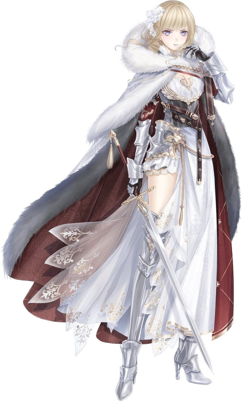 Pin By Babul Albab On Fantasy Anime Warrior Girl Anime Warrior Female Knight