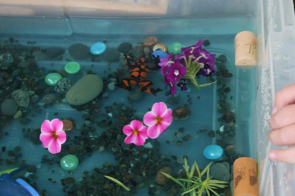 ocean sensory bin - happy hooligans - water bin play, water tablehappy hooligans