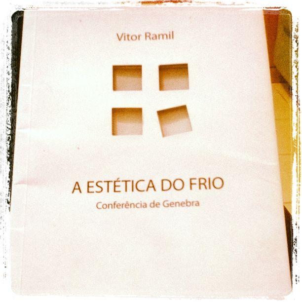 A Estética do Frio, Vitor Ramil