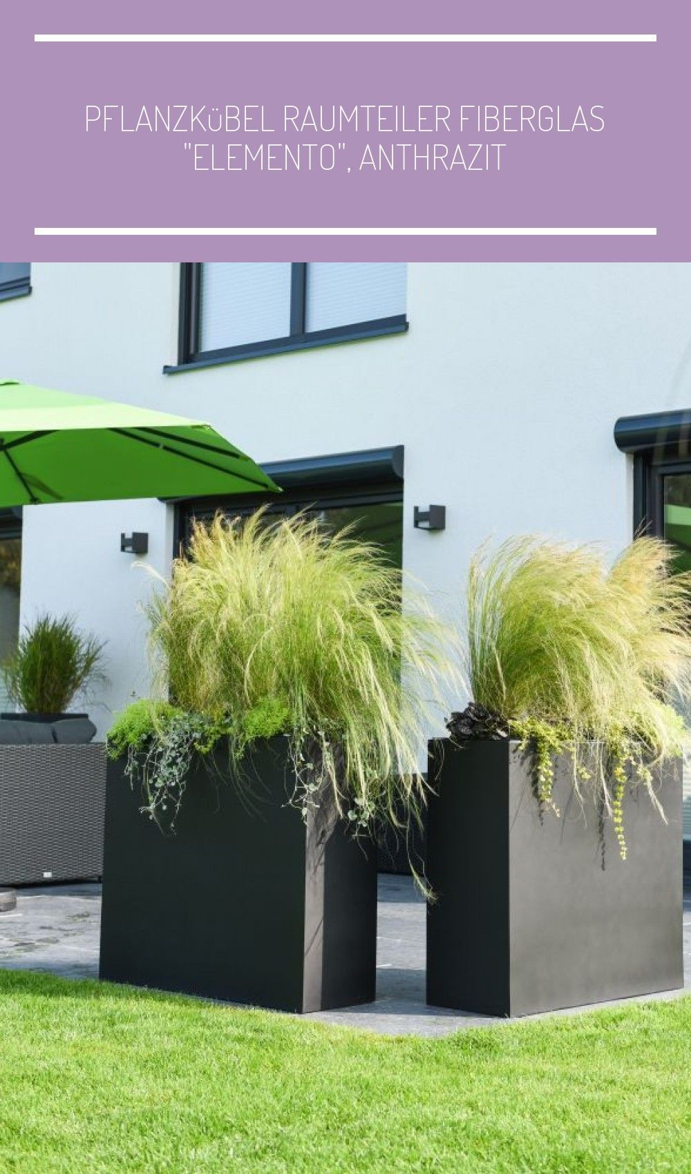 Fur Sichtschutz Auf Der Terrasse Dieser Pflanzkubel Raumteiler