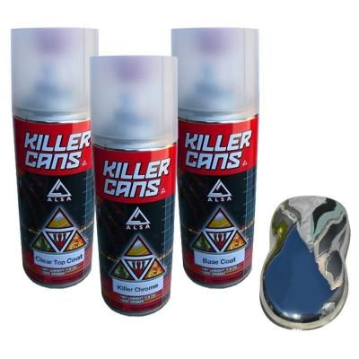 Alsa Refinish Killer Chrome Kit-KC-KCH-Kit - The Home Depot