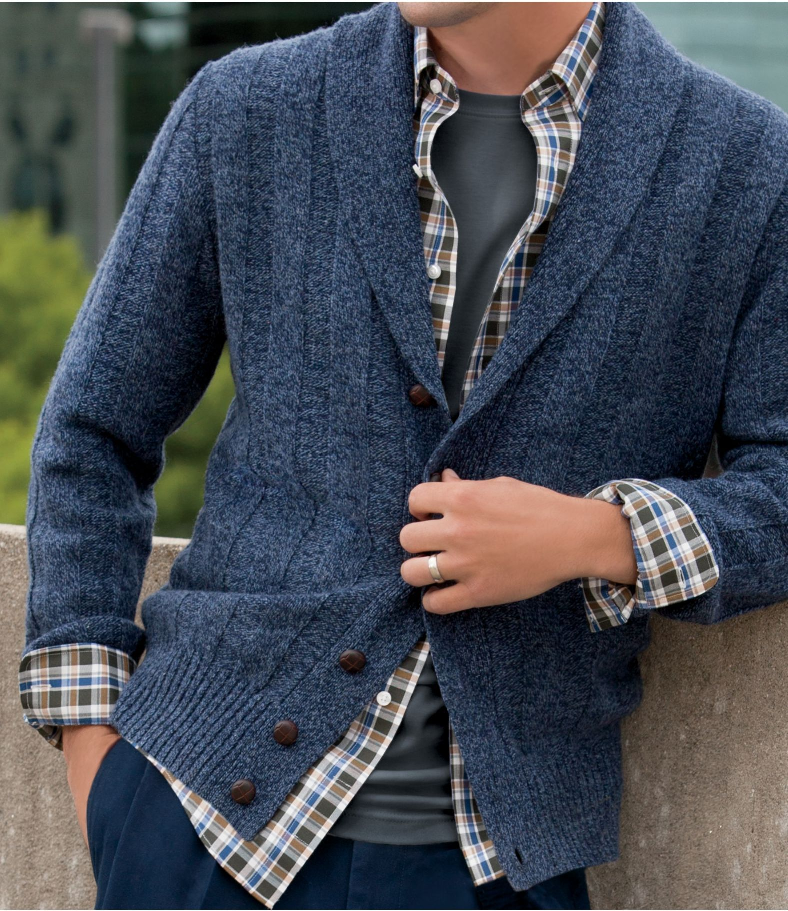 Image result for Shawl Collar Cardigan | Misc | Pinterest