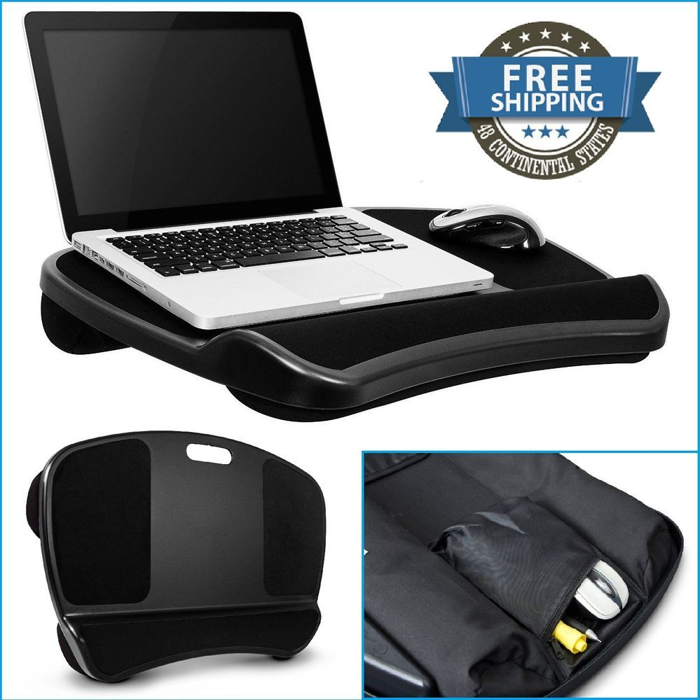 Portable Laptop Desk Bed PC Tray Stand Cushion Tablet