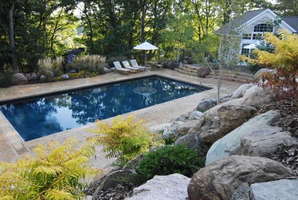 Different Types Of Swimming Pools Backyard Pool Small Backyard Pools Rectangle Pool
