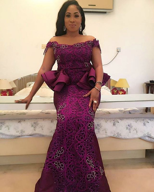 Ada Daisy Gorgeous In Celebrityqueenn Latest African Fashion Dresses African Lace Dresses African Lace Styles