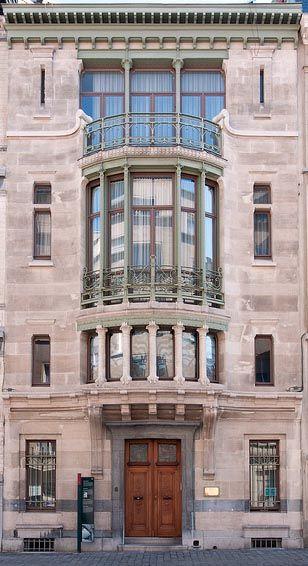 Art nouveau l 39 h tel tassel est une maison de ma tre - Maison de l art nouveau ...