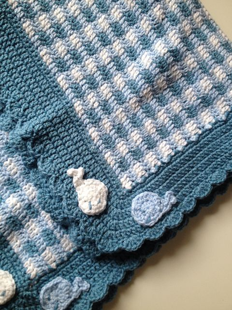 Ravelry: Project Gallery for Gingham Blanket pattern by Melody Griffiths