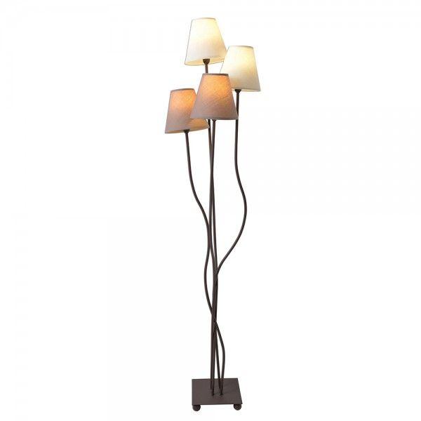 Auffällige Stehlampe für natürliche Wohnräume Wohnzimmer - stehlampe f r wohnzimmer