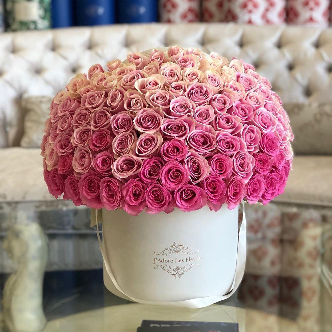 "J'Adore Les Fleurs JLF on Instagram ""100 Ombré Pink"
