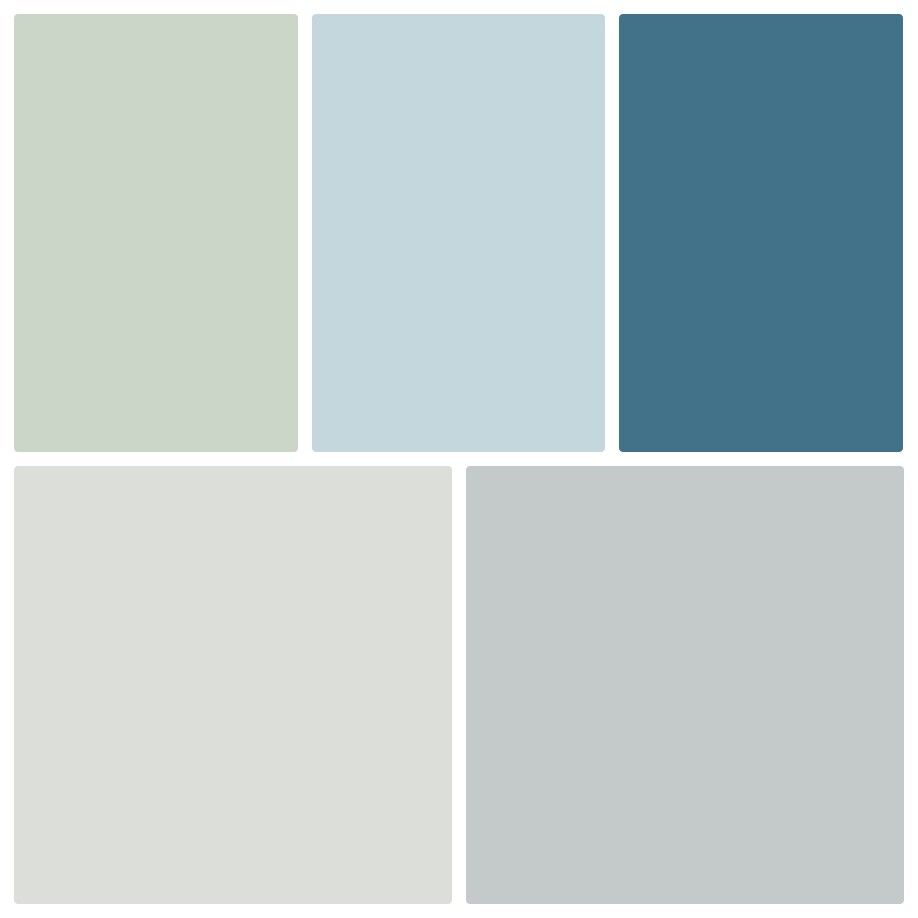 Sherwin Williams Color Palette Sea Salt Balmy Downpour Site White And