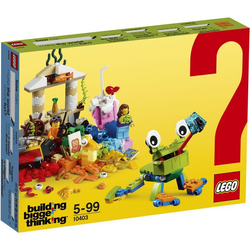 LEGO Classic Creative Builder Box 10703 | Legos, Lego brick and ...