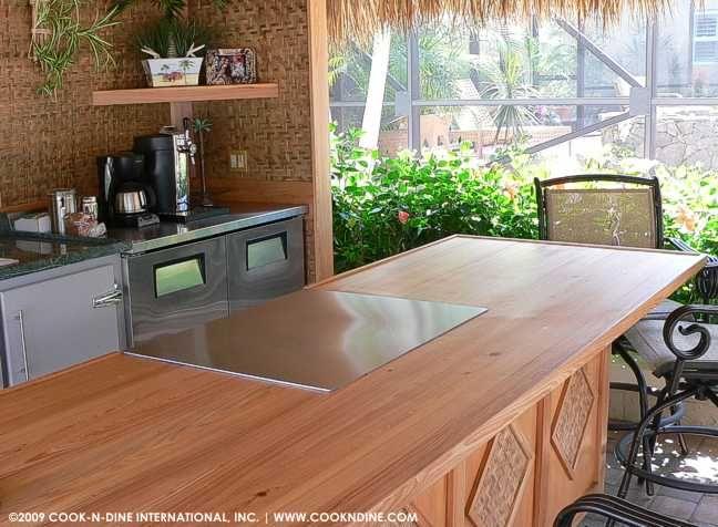 Teppanyaki Grill Outdoor Kitchen Island Outdoor Kitchen Kitchen