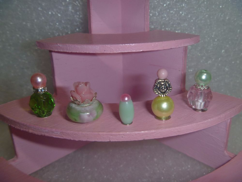 Barbie Doll Miniature Perfume Set for