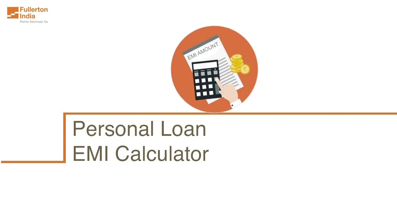 Calculate Your Personal Loan Emi Online Personal Loans Loan Emi
