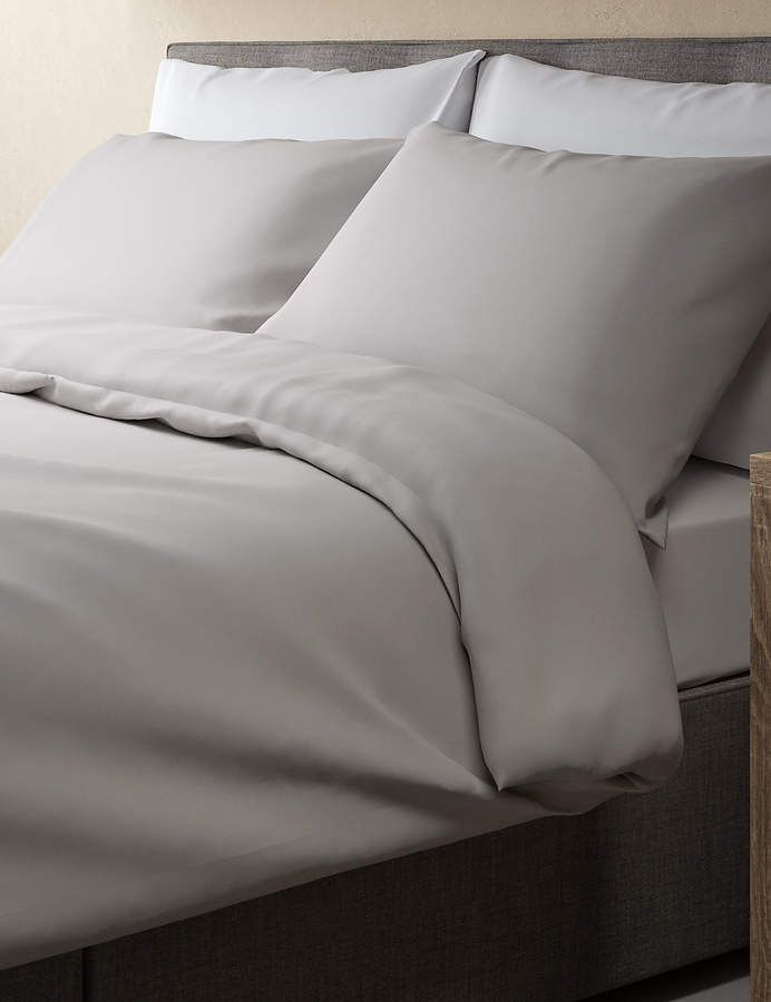 Marks And Spencer Pure Cotton Percale 300 Thread Count Duvet Cover Best Duvet Covers Duvet Covers Egyptian Cotton Duvet Cover