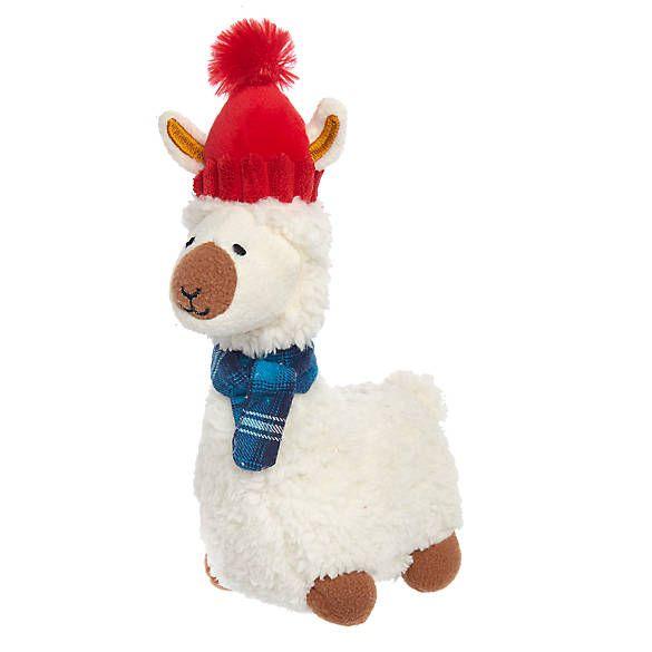 Christmas Llama Dog Toy Pet Holiday Plush Dog Toys Christmas