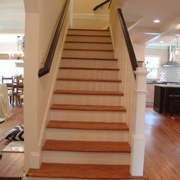 Best Center Staircase Open On One Side Home Renovation 400 x 300
