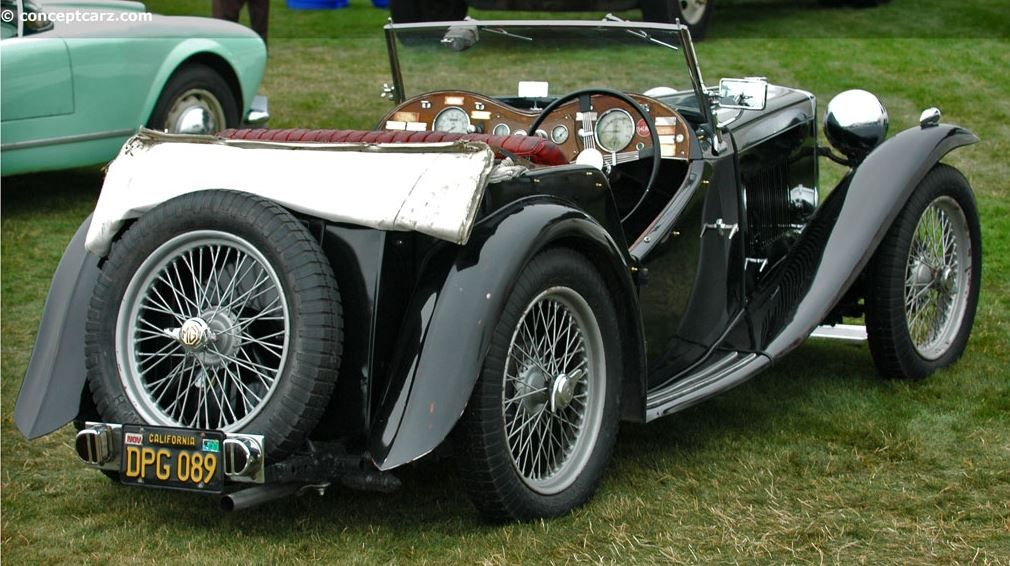 MG TC 1945 Midget