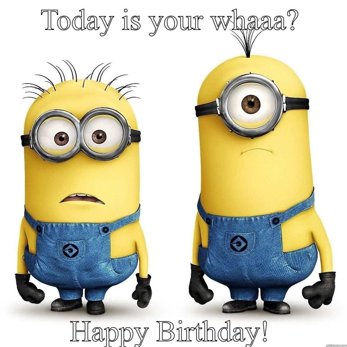 Happy Birthday Minions With Images Minions Happy Birthday