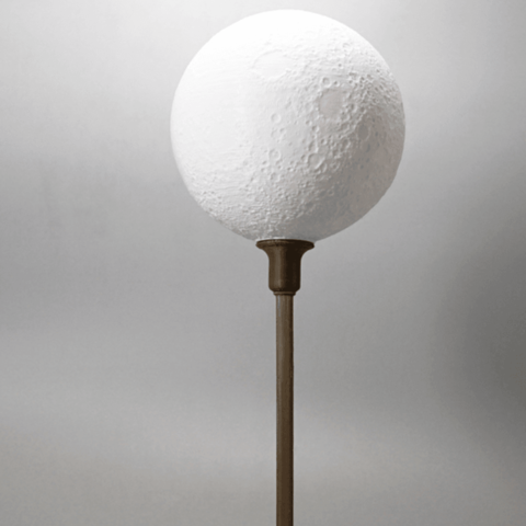 Moon Lamp With Base Lamp 3d Printing Service 3d Printer