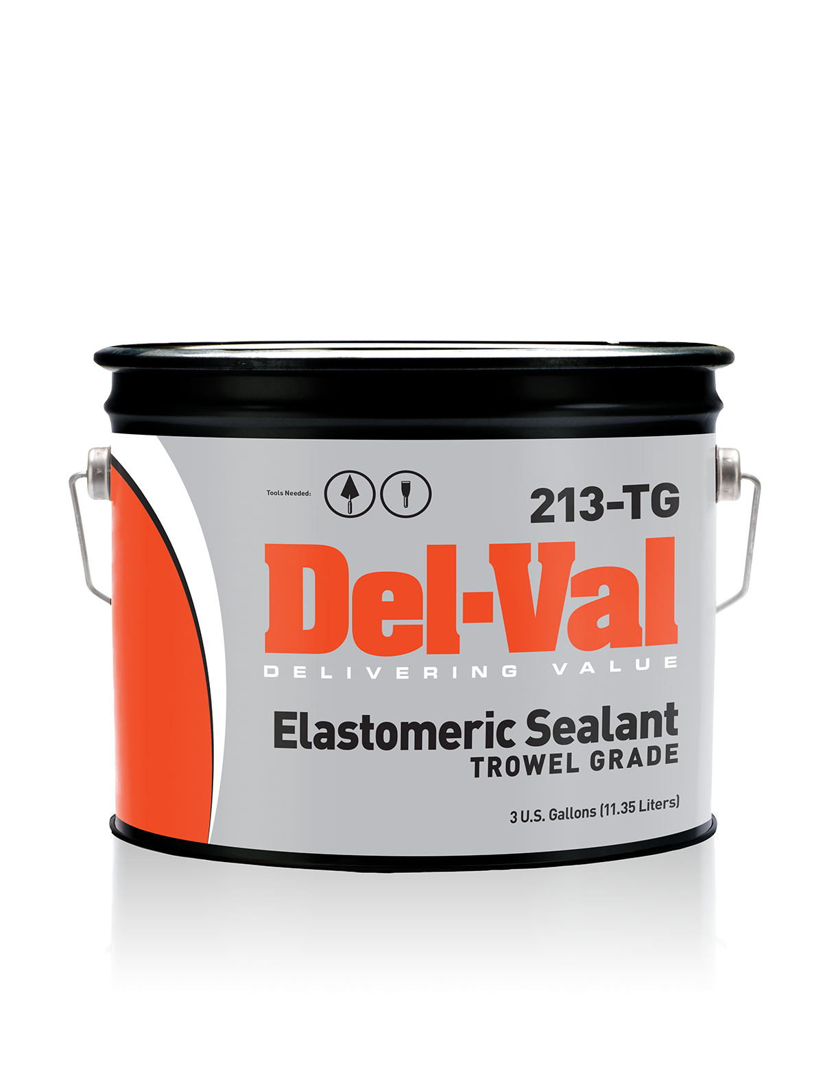 Del Val 213 Elastomeric Sealant Trowel Grade Contains A Blend Of Sbs Rubbers With Solvent Based Asphalts And Reinforcing Fibers Del Sealant Trowel The Unit