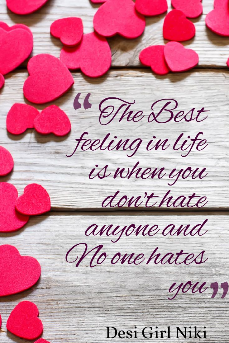 #love #best #feeling #hate #forgive #happiness