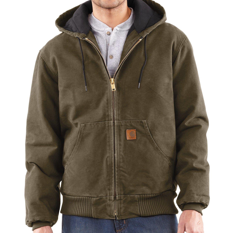 Carhartt J130 Sandstone Flannel Lined Active Jacket - Washed Duck, Factory  Seconds (For Men) | Jackets for big men, Carhartt jacket, Active jacket