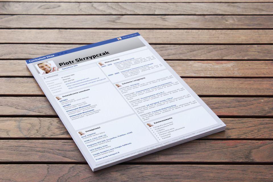 Wzór CV u2013 Little Sure Sign to prostota klasycznego CV w połączeniu - fiverr resume