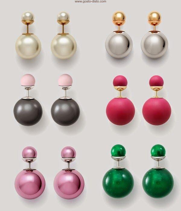 5b192d7218a Brinco Mise en Dior - Brinco Dior Inspired - Gosto Disto!