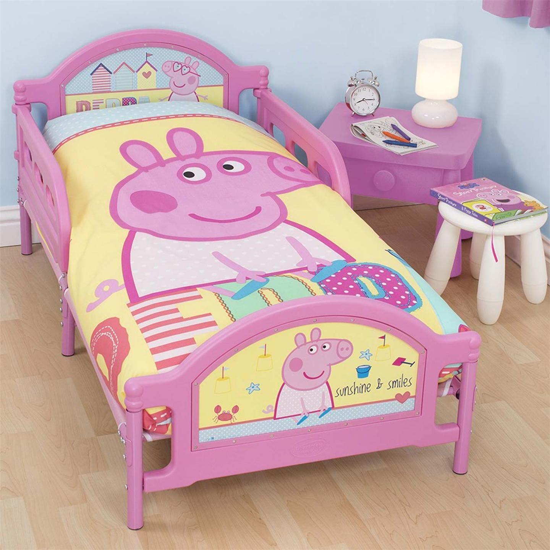 Peppa Pig Bedroom Stuff Peppa Pig Toddler Bed Beds Bedrooms Pinterest Toddler Bed