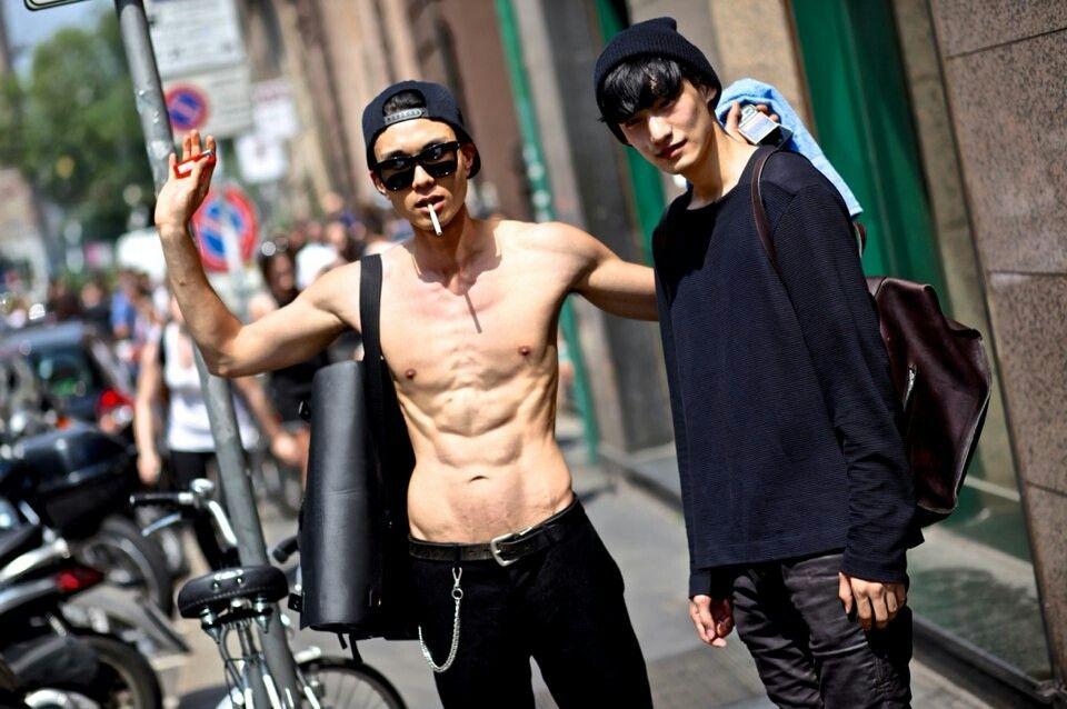 Street Style MFW SS15 | Kim Do Jin | Kim Tae Hwan