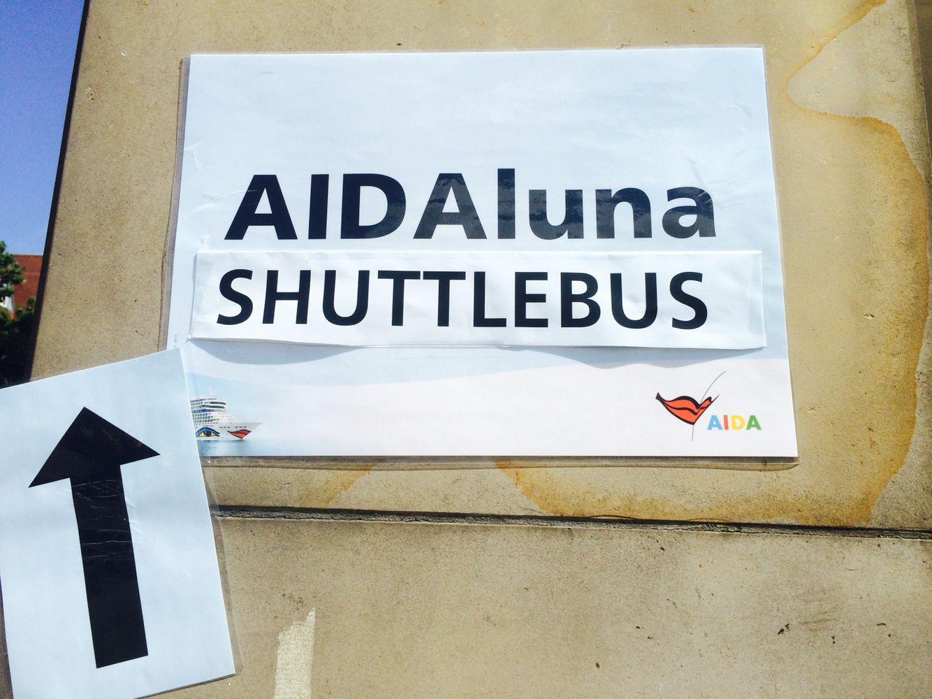 AIDAluna Shuttlebus