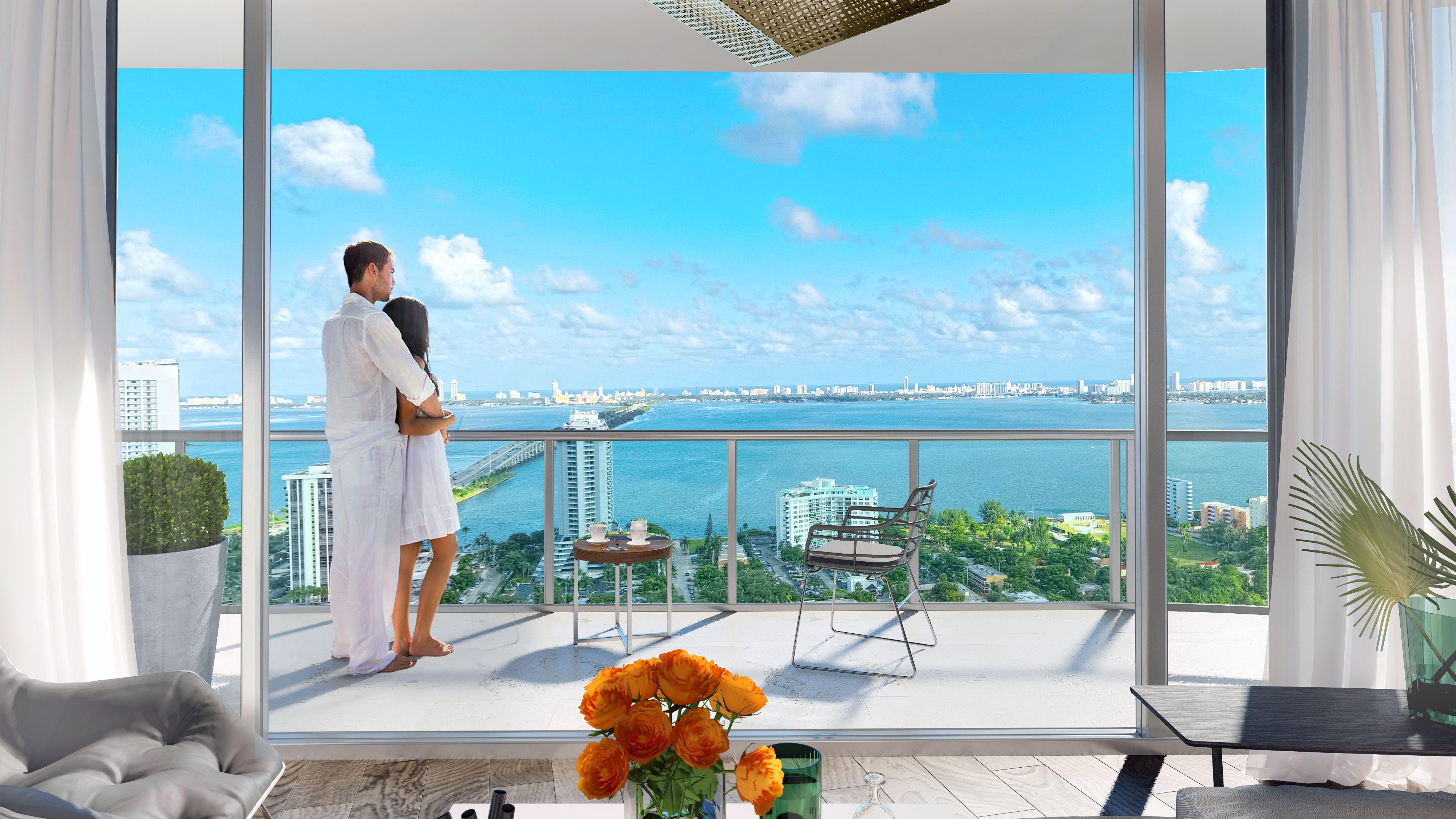 Hyde Midtown Miami Mia 1012 Apartments Miami Downtown New Construction Penthouse Real Estate Pictures Midtown Luxury Real Estate