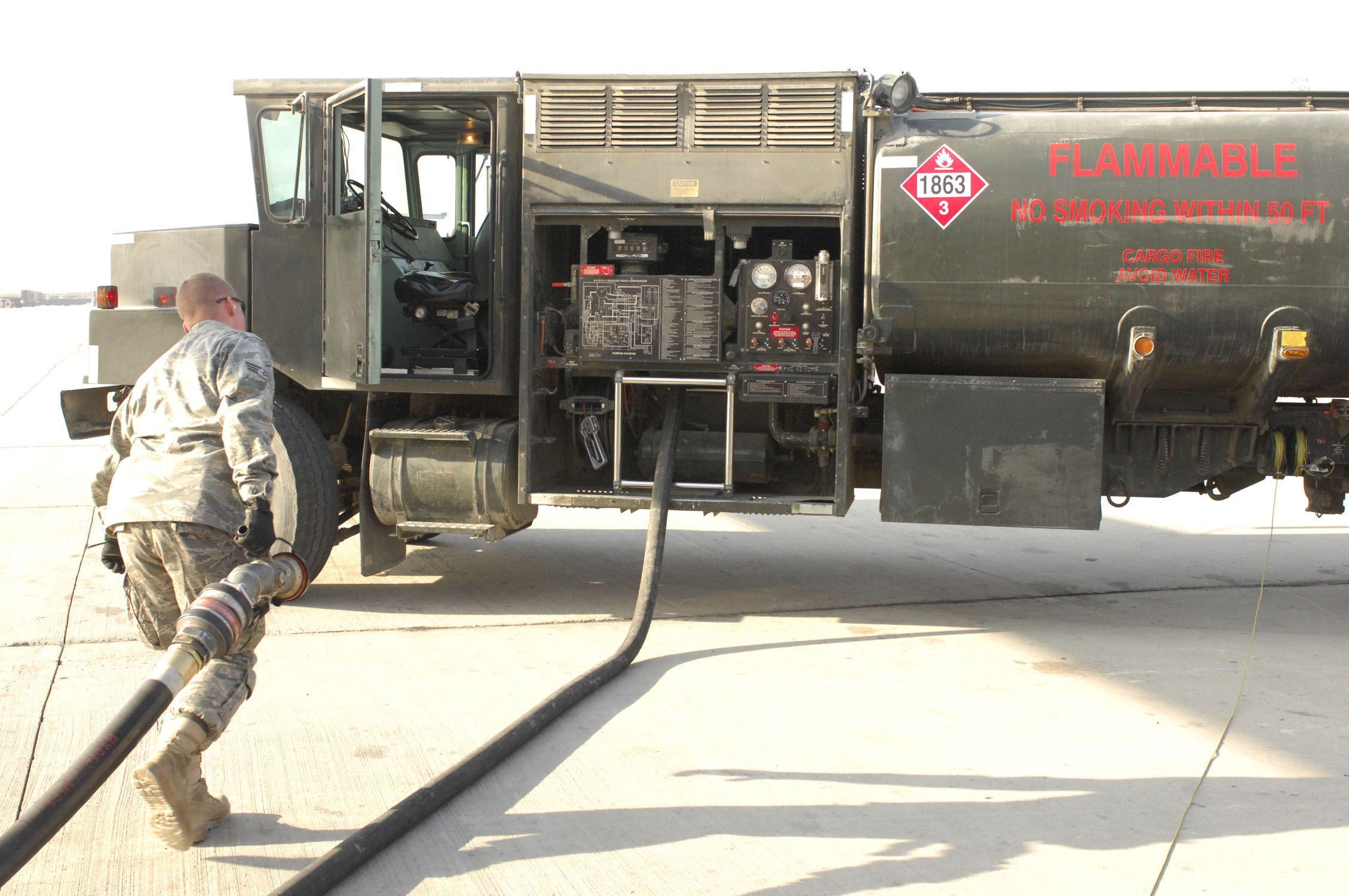 Air Force Refueling Trucks Bagram Airfield Media