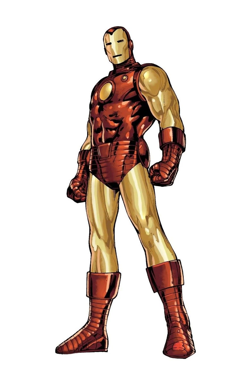 Iron Man Tony Stark Mark 4 Classic Suit Iron Man Iron Man Armor Iron Man Comic