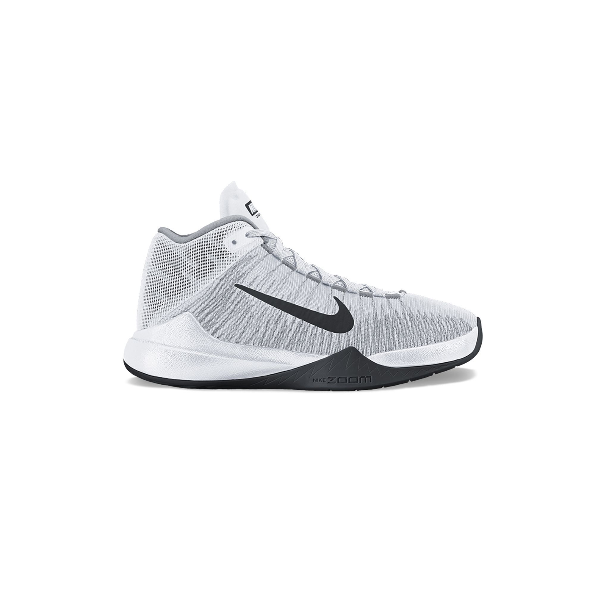 Nike Zoom Ascension Men's Basketball Shoes, Size: 11.5, White