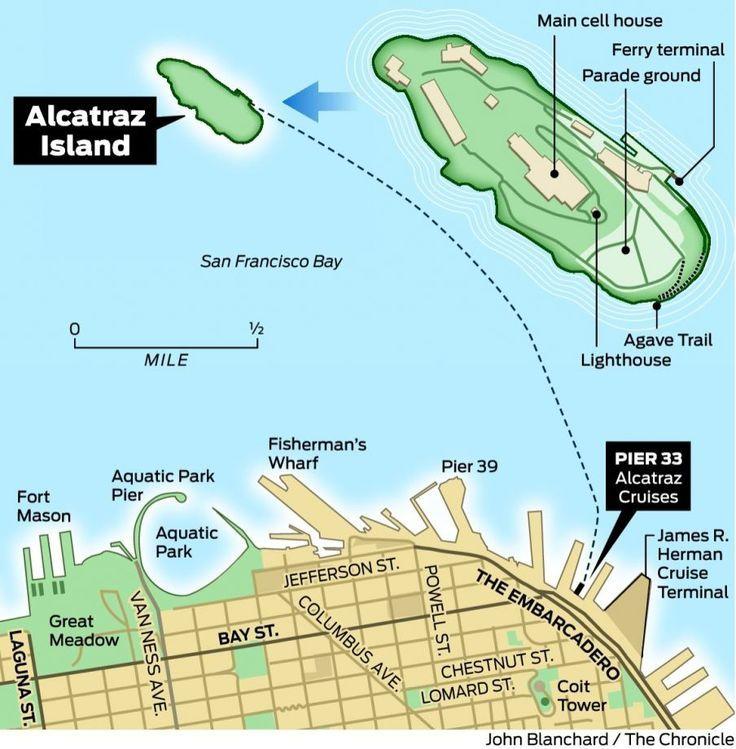 Image Result For Diagram Alcatraz Island Alcatraz Tour Alcatraz