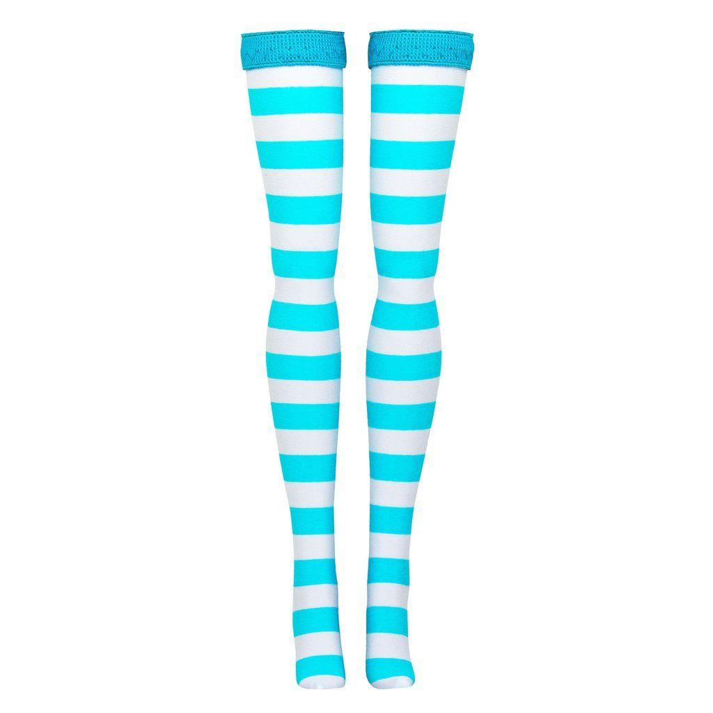 Multi Stripe Doll Stockings for Pullip DAL Licca Tangkou dolls