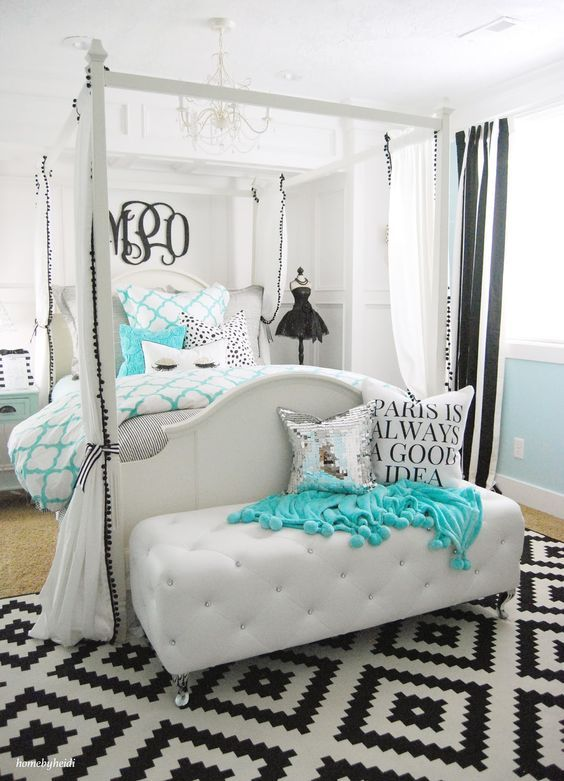 Charming Teens Bedroom Decor (12) Images