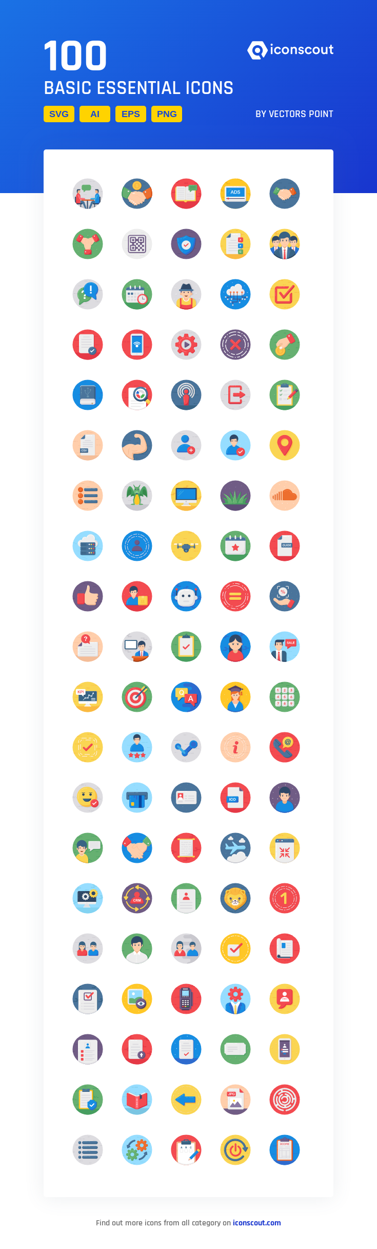 Download Basic Essential Icon Pack - 100 Rounded Icons | Icon pack ...