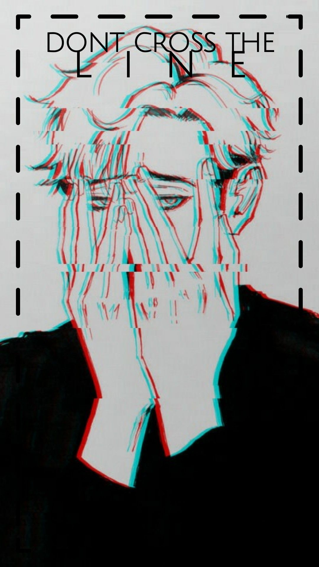 Edit Of A Picture Of Sangwoo Glitched