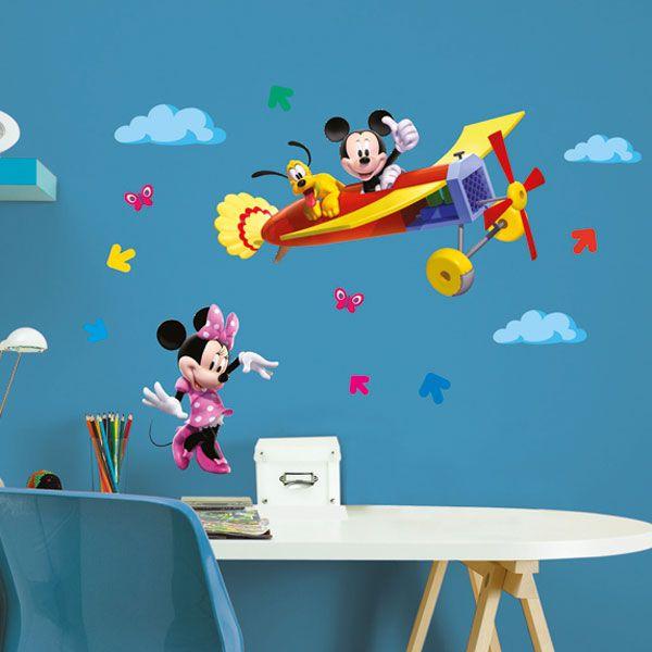 Adesivi Murali Per Bambini Disney.Mickey Clubhouse L Decorazioni Adesive Home Decor E Decorazioni