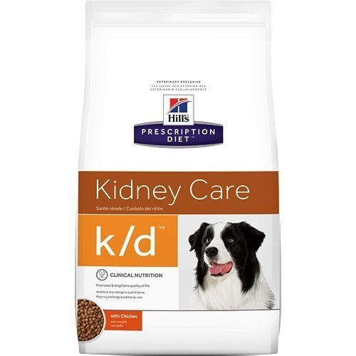 Hills Prescription Diet Kd Kidney Care With Chicken Dry Dog Food 85 Lb Check Out This Great Product Dry Dog Food Dog Food Recipes Food Sensitivities